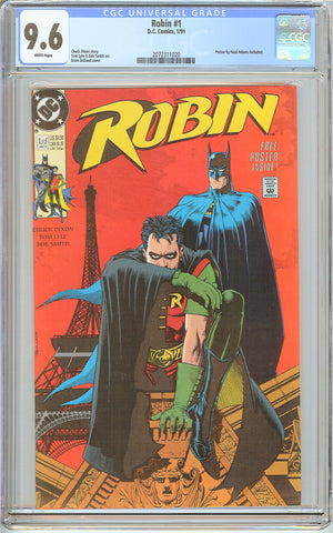 Robin #1 CGC 9.6 White Pages (1991) 2072311020