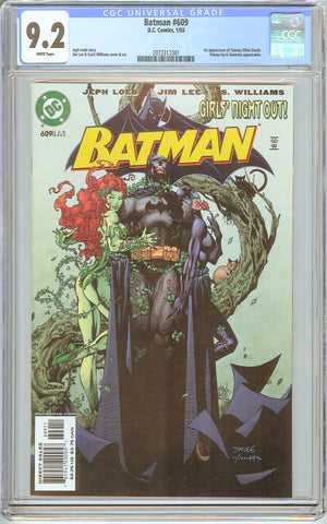 Batman # 609 CGC 9.2 White Pages (2003) 2072313001