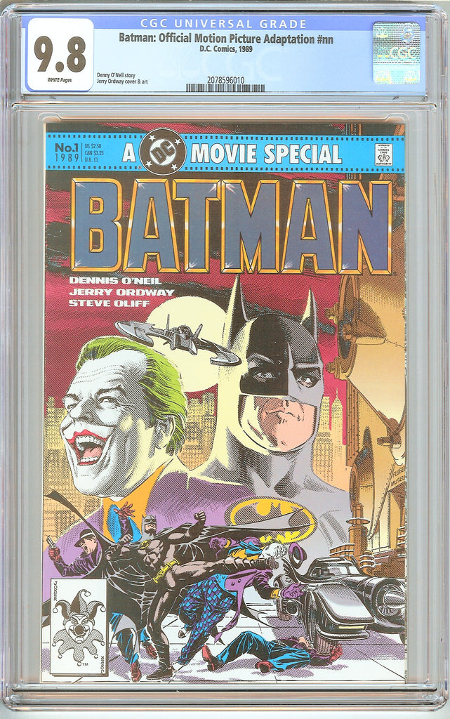 Batman Official Motion Picture Adaptation #nn CGC 9.8 WP 2078596010