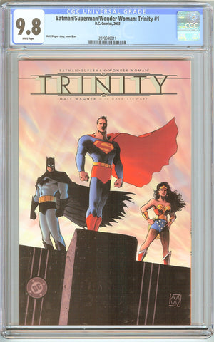 Batman/Superman/Wonder Woman: Trinity #1 CGC 9.8 White Pages 2078596011