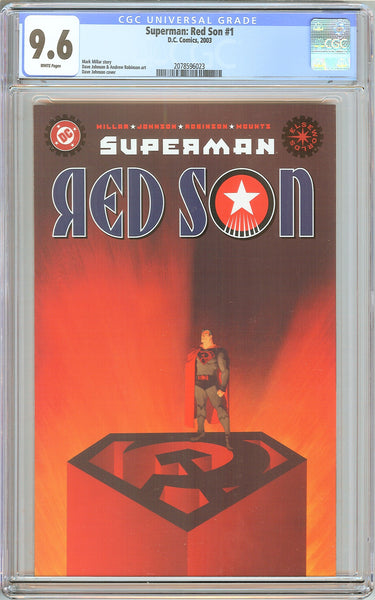 Superman Red Son #1 CGC 9.6 White Pages (2003) 2078596023