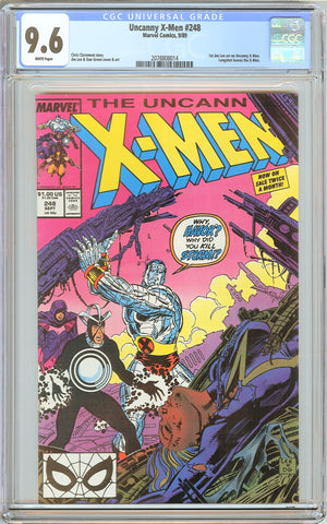The Uncanny X-Men # 248 (1989) CGC 9.6 White Pages 2078808014