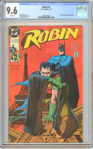 Robin #1 CGC 9.6 White Pages (1991) 2081074010