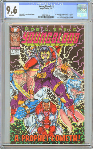 Youngblood #2 CGC 9.6 White Pages (1992) 2082323014