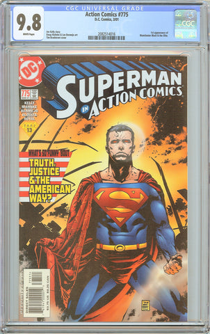 Action Comics #775 CGC 9.8 White Pages (2001) 2082514016