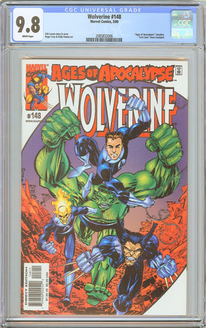 Wolverine #148 CGC 9.8 White Pages (2000) 2085832006