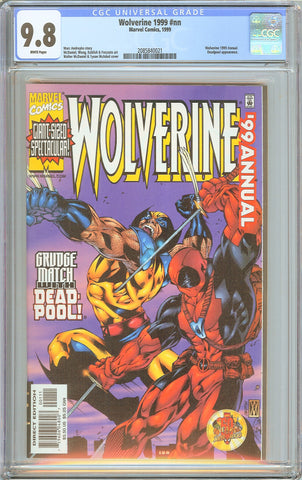 Wolverine 1999 Annual #nn CGC 9.8 White Pages 2085840021