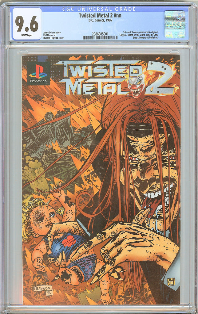 Twisted Metal 2 #nn CGC 9.6 White Pages 2086885001 Extreme Rarity