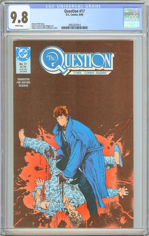 Question #17 CGC 9.8 W (1988) 2092207014 1st Rorschach from Watchmen