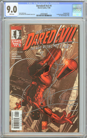 Daredevil #v2 #1 CGC 9.0 White Pages 2097626007