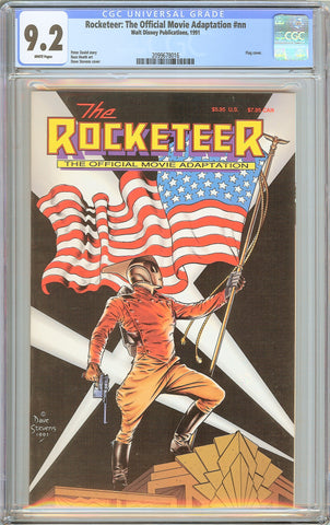 Rocketeer: The Official Movie Adaptation #nn CGC 9.2 White Pages (1991) 20996780