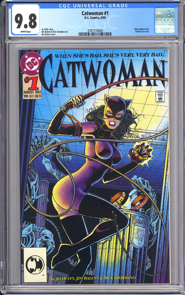 Catwoman #1 CGC 9.8 White Pages (1993) 3707774020