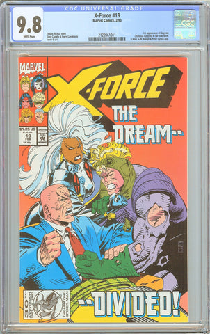 X-Force #19 CGC 9.8 White Pages 1993 2123961011 1st Copycat