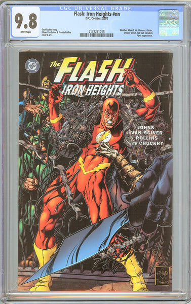 Flash Iron Heights #nn CGC 9.8 White Pages (2001) 2137251015