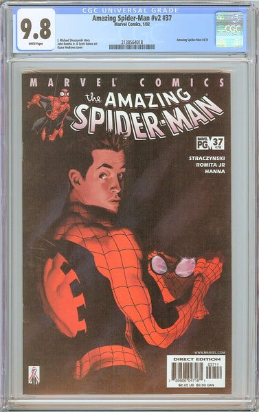Amazing Spider-Man #v2 #37 CGC 9.8 White Pages 2138564018