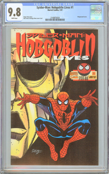 Spider-Man Hobgoblin Lives #1 CGC 9.8 White Pages 2140875024