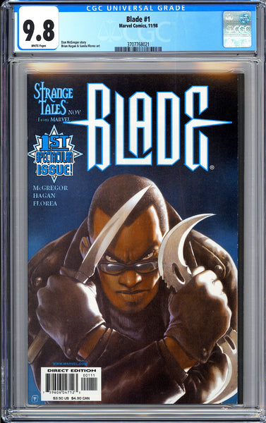 Blade #1 CGC 9.8 White Pages (1998) 3707768021