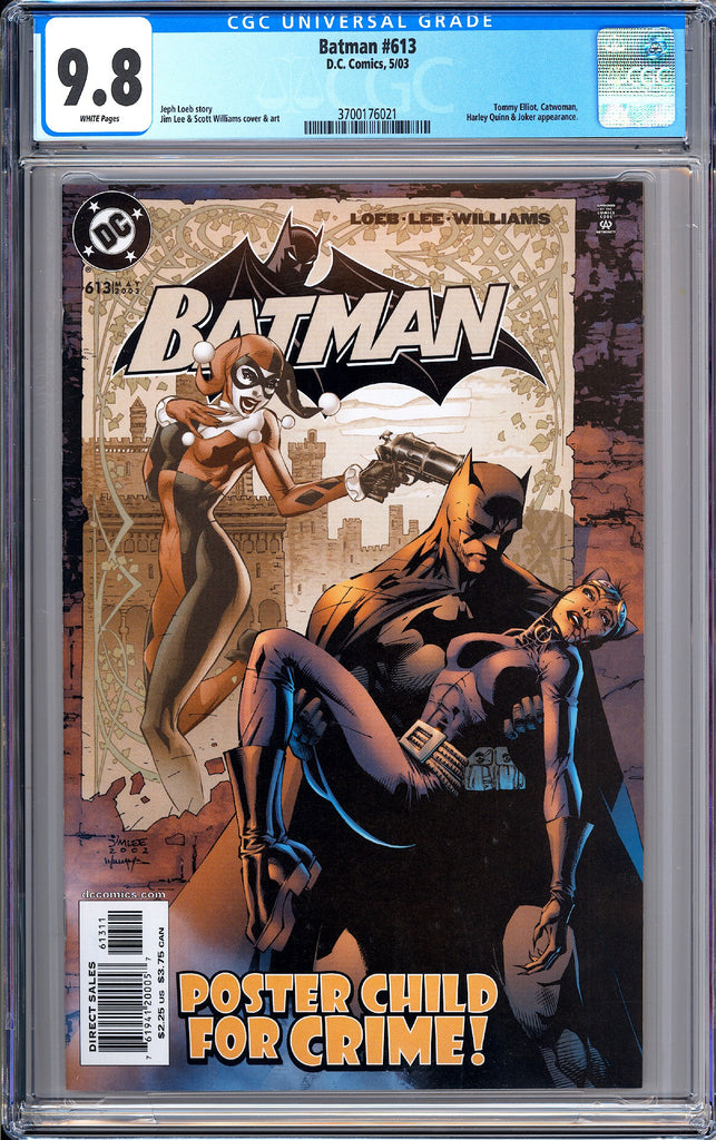 Batman # 613 CGC 9.8 White Pages (2003) 3700176021