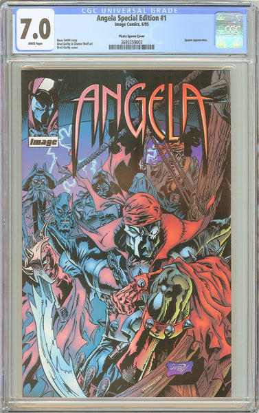 Angela Special Edition #1 CGC 7.0 White Pages (1995) 3693359003