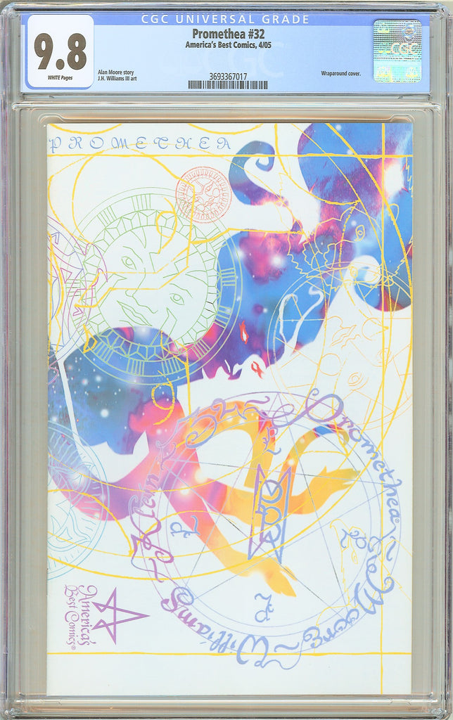 Promethea #32 CGC 9.8 White Pages (2005) 3693367017 Final Issue