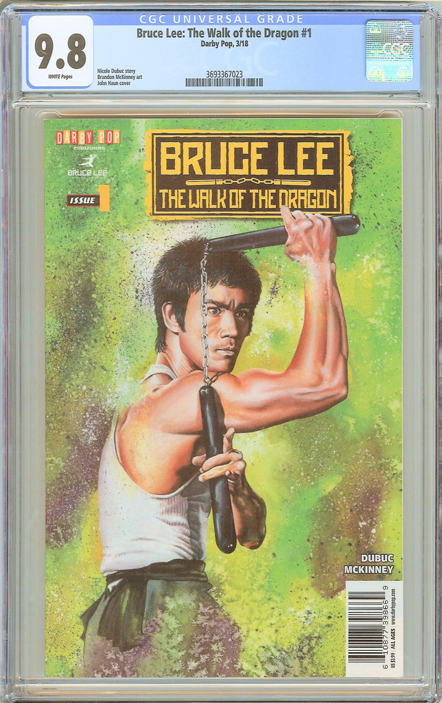Bruce Lee The Walk of the Dragon #1 CGC 9.8 WP (2018) 3693367023