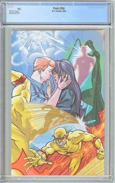 Flash #200 CGC 9.8 White Pages (2003) 3693587001