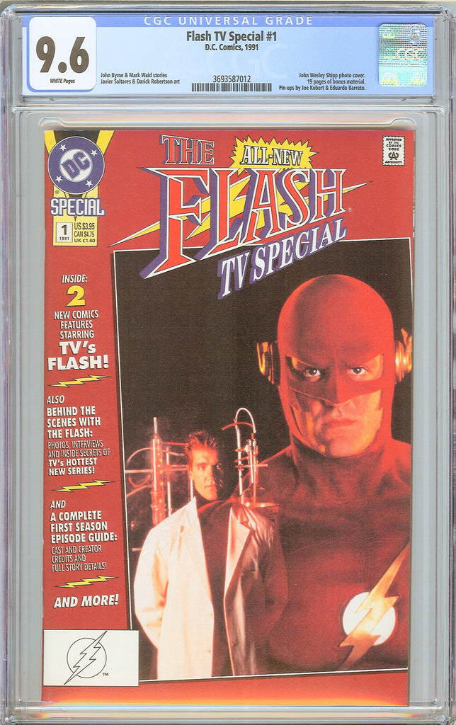Flash TV Special #1 CGC 9.6 White Pages (1991) 3693587012