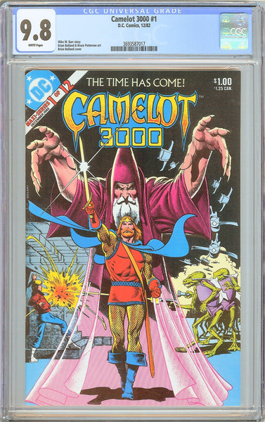 Camelot 3000 #1 CGC 9.8 White Pages (1982) 3693587017