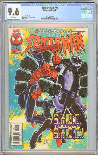 Spider-Man #76 CGC 9.6 White Pages (1997) 3693686004 Morbius