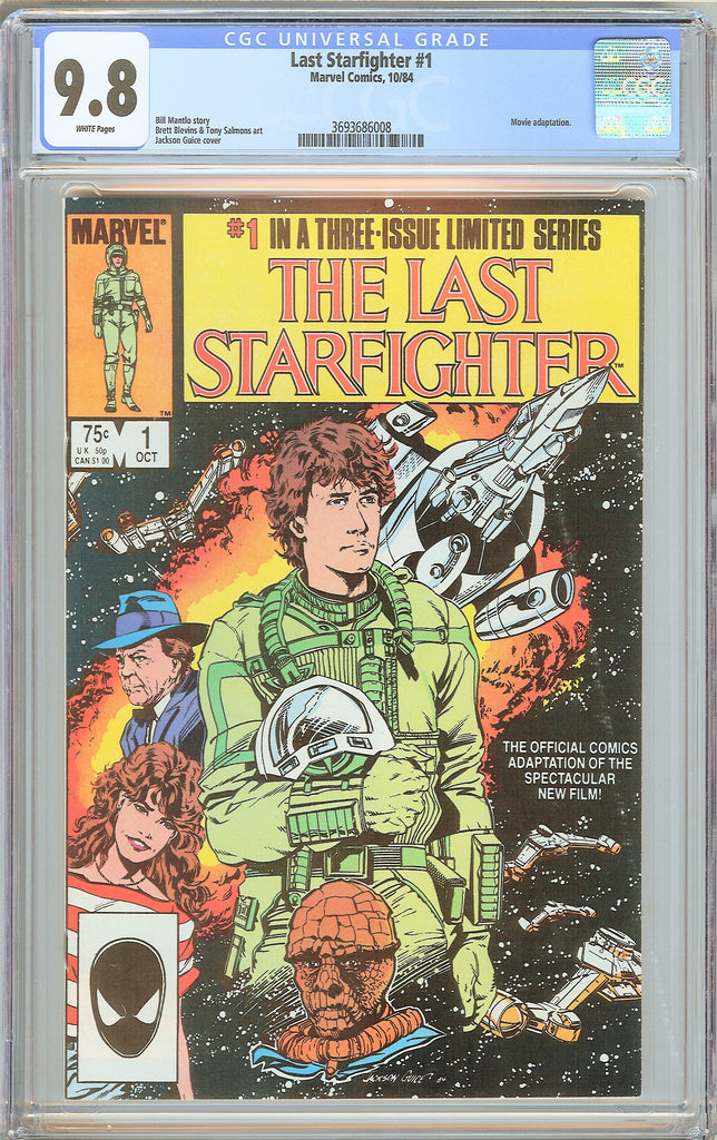 Last Starfighter #1 CGC 9.8 White Pages (1984) 3693686008