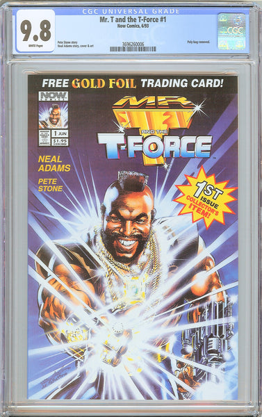 Mr. T and the T-Force #1 CGC 9.8 White Pages 3696260006