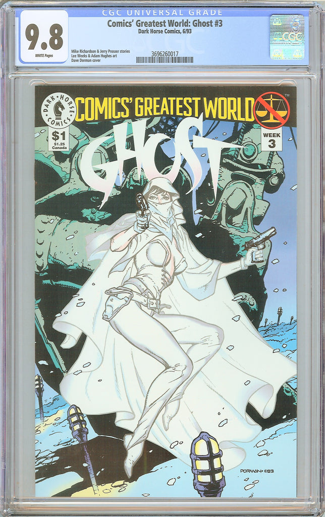 Comics' Greatest World Ghost #3 CGC 9.8 WP 1993 3696260017