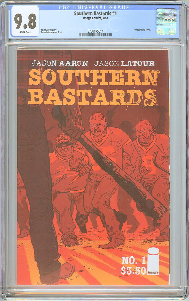 Southern Bastards #1 CGC 9.8 White Pages (2014) 3700175014 Wraparound Cover