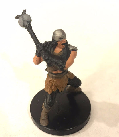 D&D Miniatures Aberrations 46/60 Carrion Tribe Barbarian (C) NO STATS CARD !