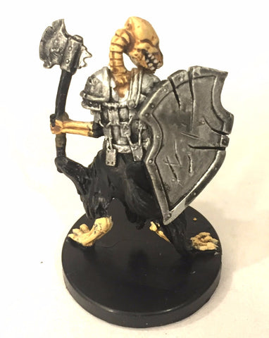 D&D Miniatures Aberrations 52/60 Gnoll Skeleton (C) NO STATS CARD !