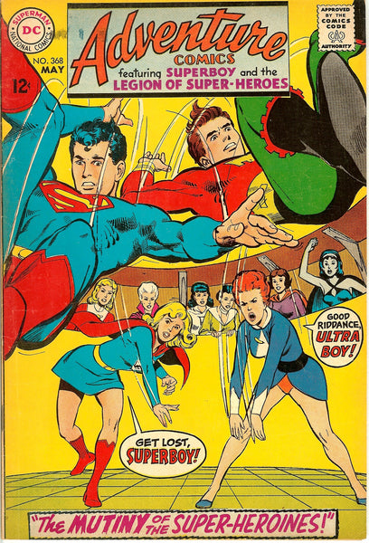 DC Adventure Comics ( Lot of 4 ) Vintage 1968-69 FN to FN+