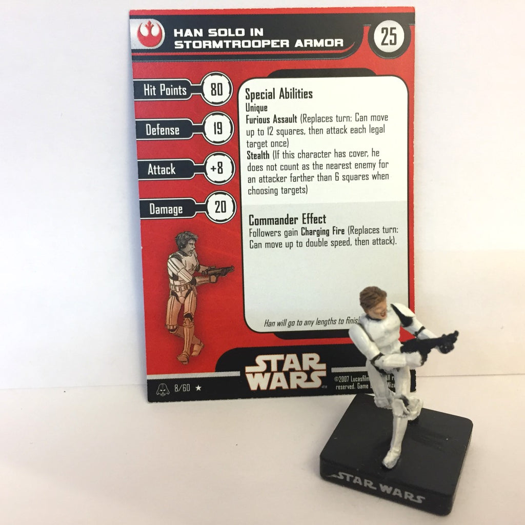 Star Wars Alliance & Empire 08/60 Han Solo in Stormtrooper Armor (R)