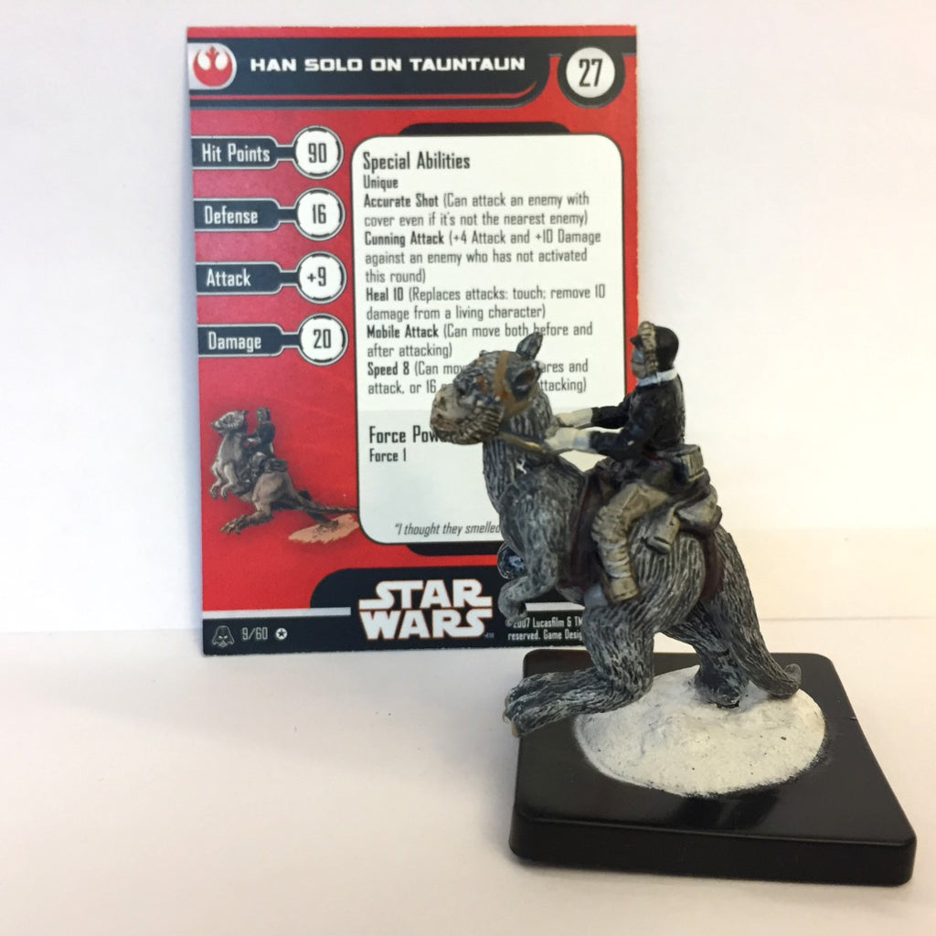 Star Wars Alliance & Empire 09/60 Han Solo on Tauntaun (VR)