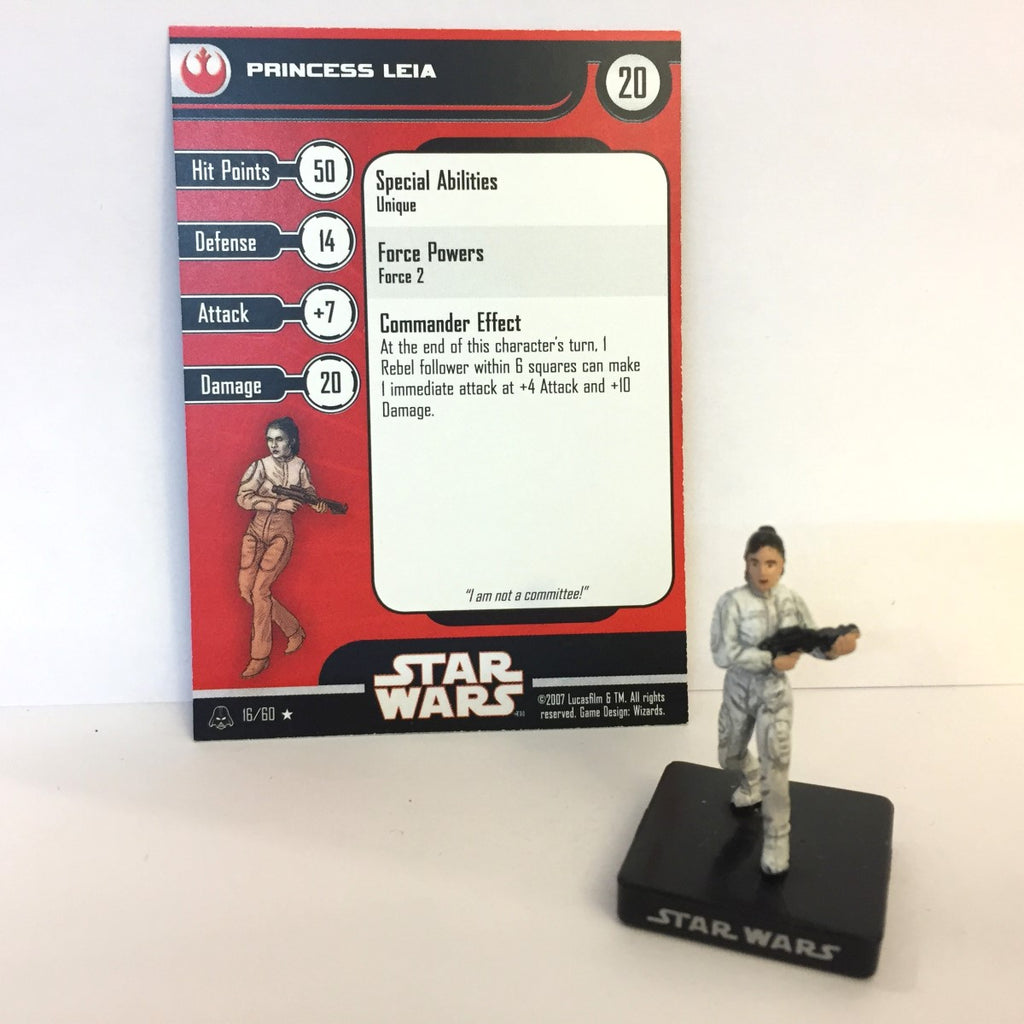 Star Wars Alliance & Empire 16/60 Princess Leia (R)