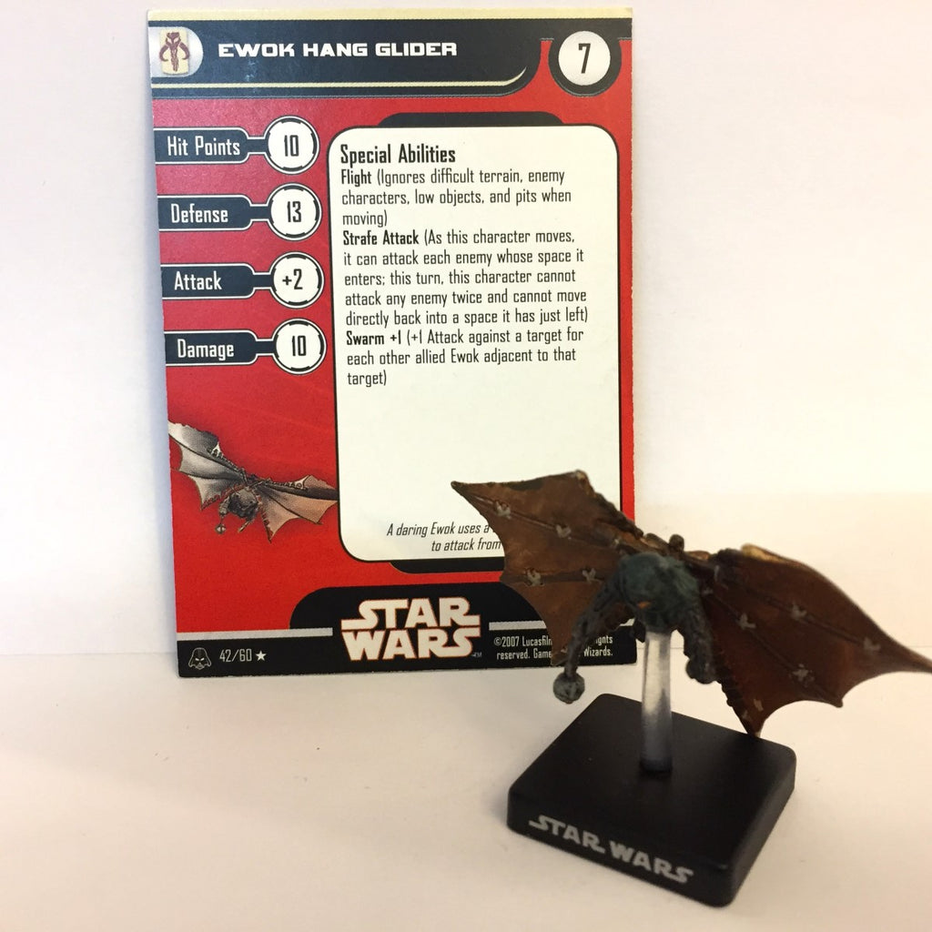 Star Wars Alliance & Empire 42/60 Ewok Hang Glider (R)