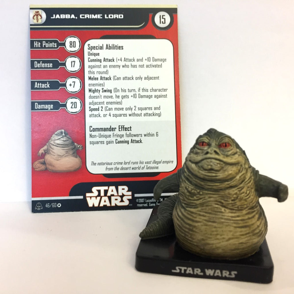 Star Wars Alliance & Empire 46/60 Jabba, Crime Lord (VR)