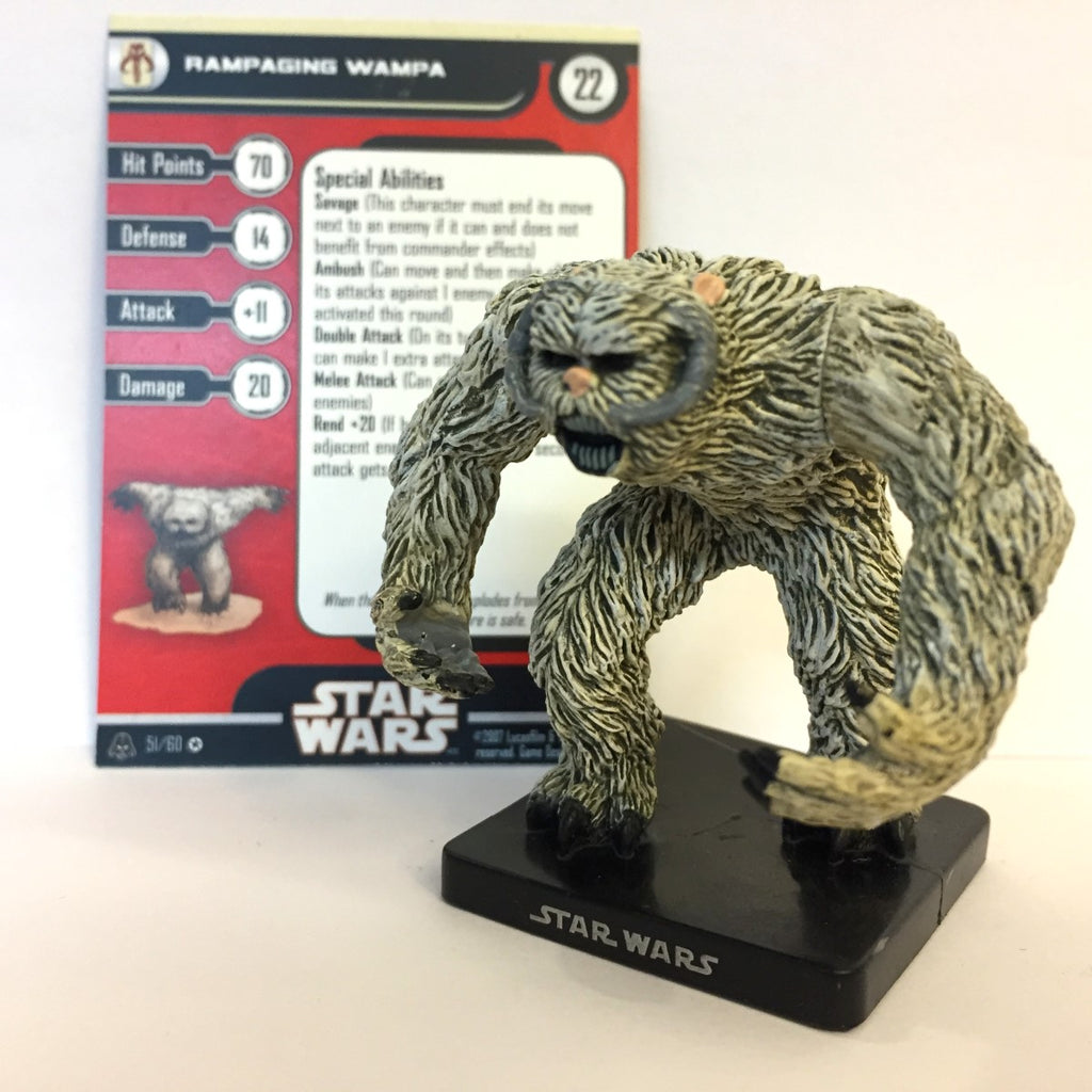 Star Wars Alliance & Empire 51/60 Rampaging Wampa (VR)