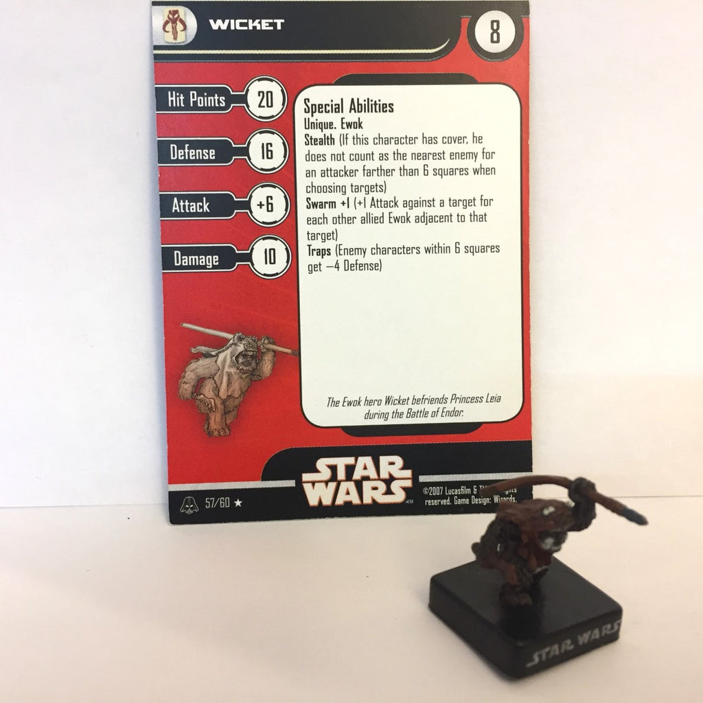Star Wars Alliance & Empire 57/60 Wicket (R)