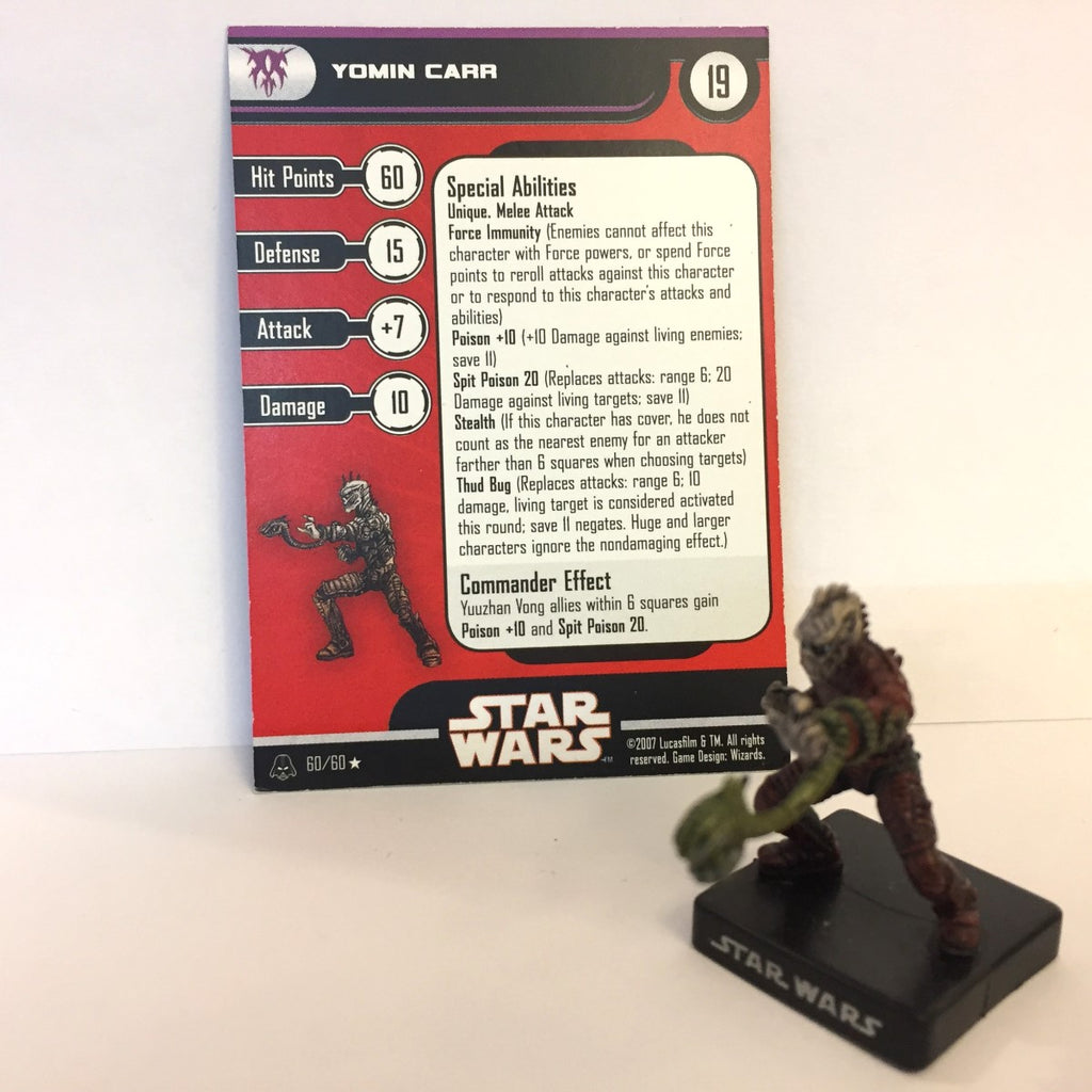 Star Wars Alliance & Empire 60/60 Yomin Carr (R)