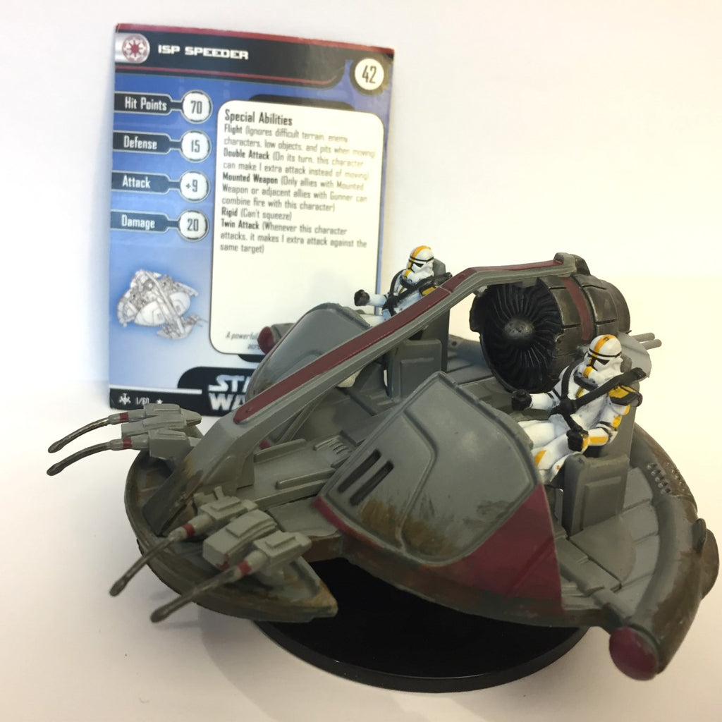 Star Wars Bounty Hunters #1 ISP Speeder (R) Miniature
