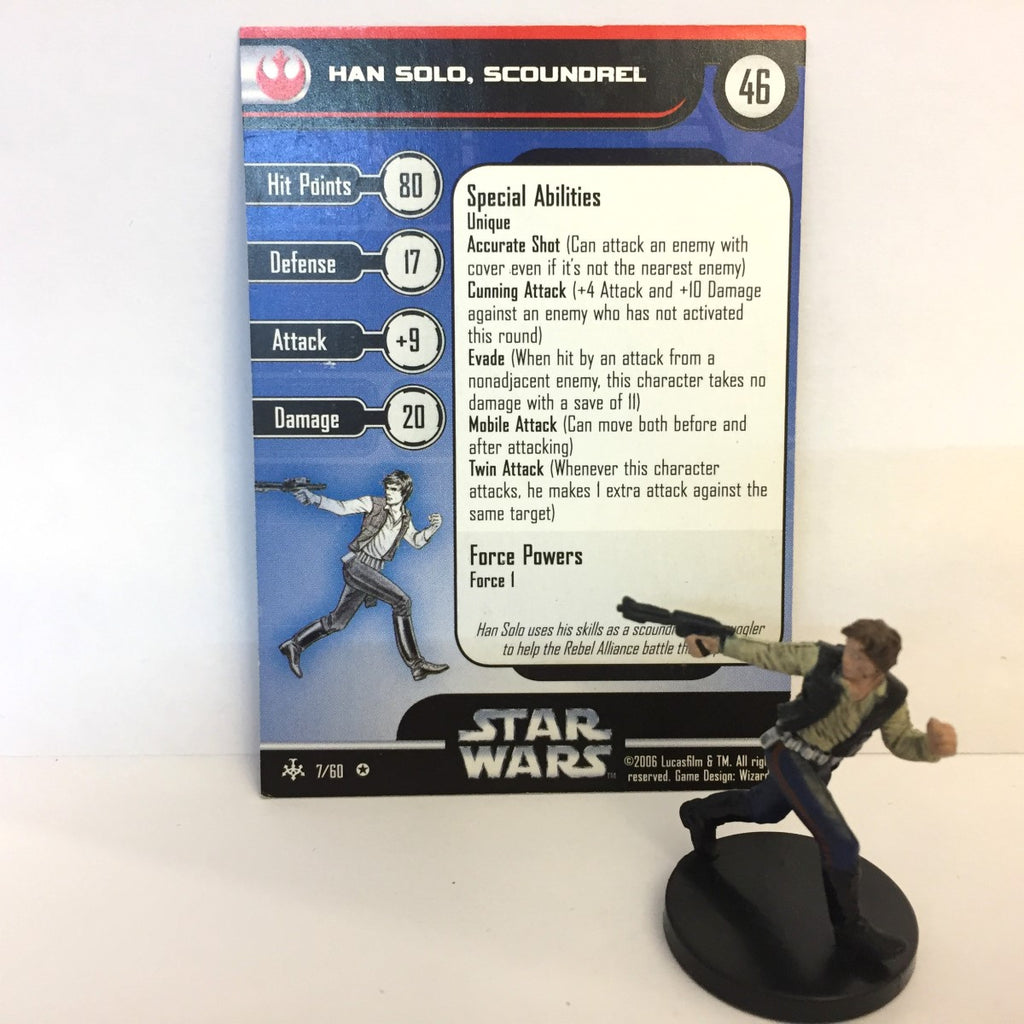 Star Wars Bounty Hunters #7 Han Solo, Scoundrel (VR) Miniature