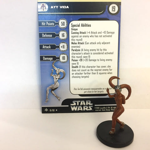 Star Wars Bounty Hunters #16 Ayy Vida (R) Miniature