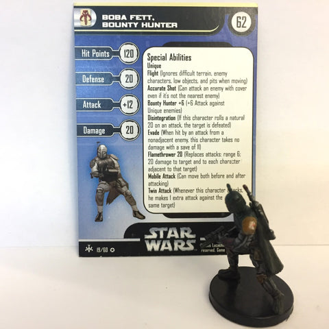 Star Wars Bounty Hunters #19 Boba Fett, Bounty Hunter (VR) Miniature