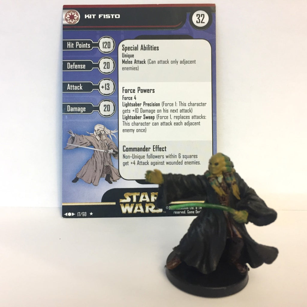 Star Wars Clone Strike #17 Kit Fisto (R) Miniature