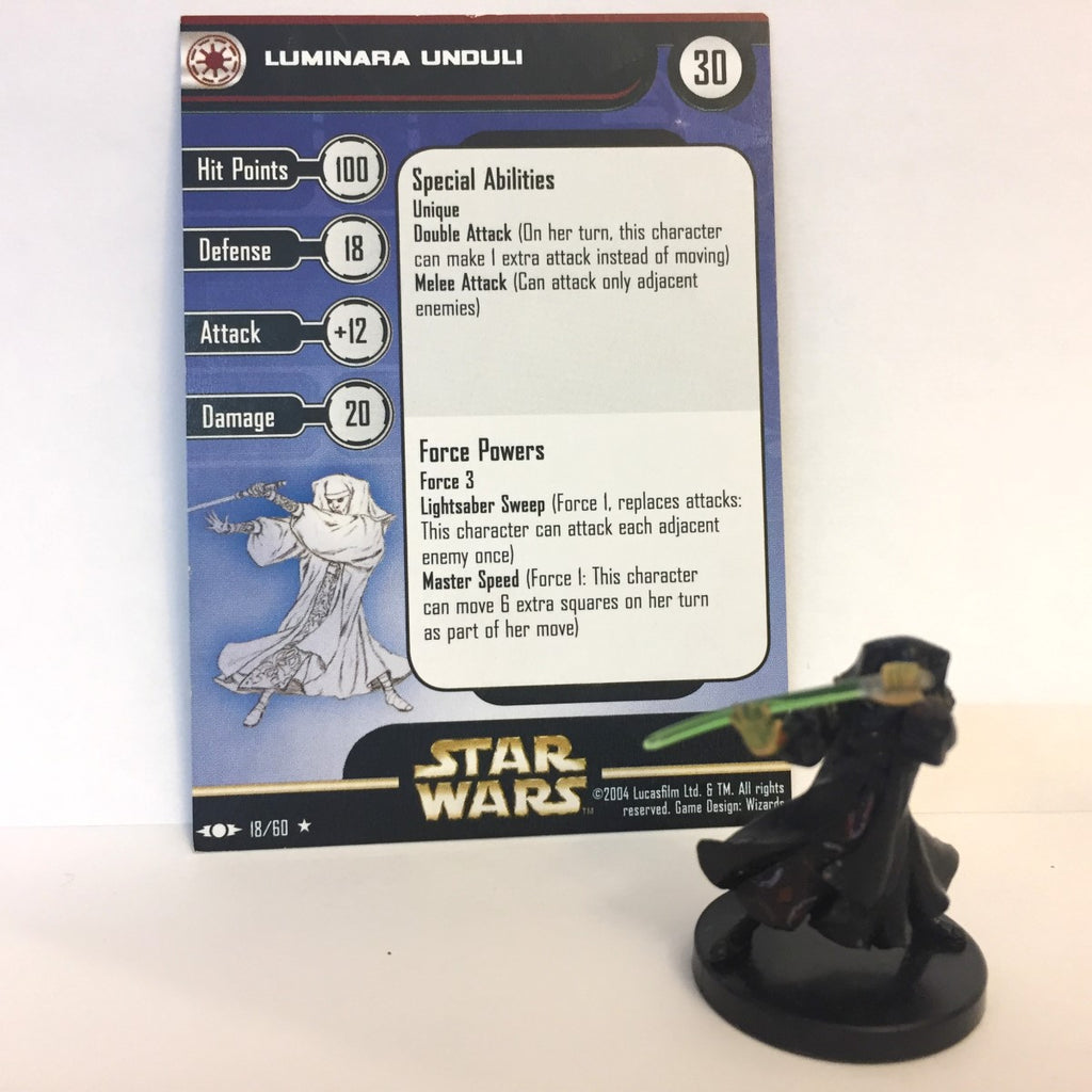 Star Wars Clone Strike #18 Luminara Unduli (R) Miniature